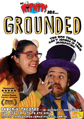 Grounded poster for MICF